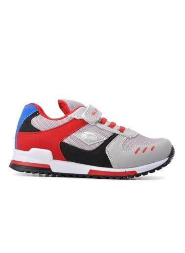 Slazenger Unisex Çocuk EDMOND Spor Ayakkabı SA11LF013-200 Gri